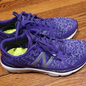 New Balance Running sneakers purple camo
